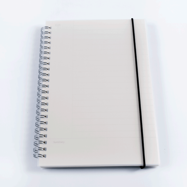 Cornell Note-taking System Notebook