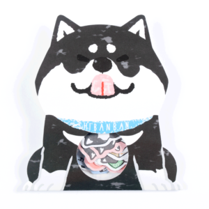 Shibanban - Black sticker pack