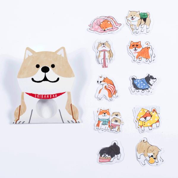 Shibanban individual stickers