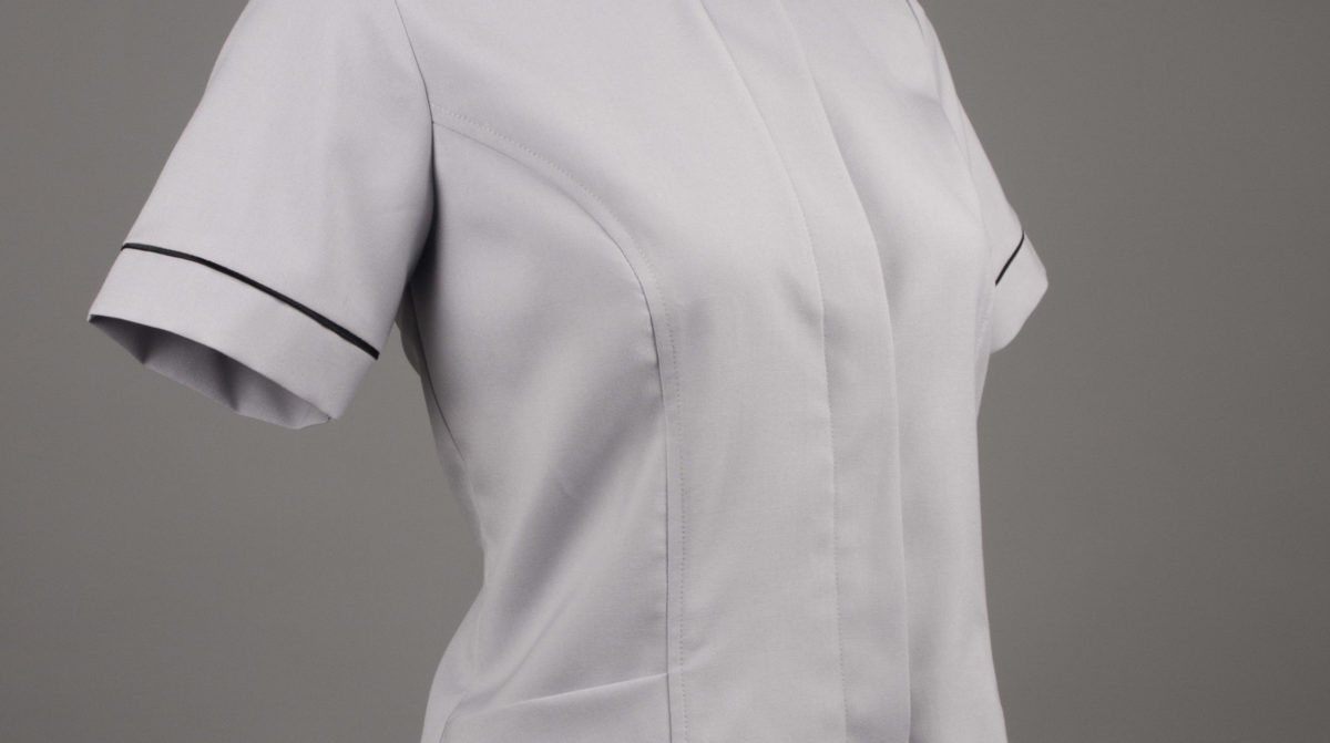 Customized service staff uniform perspective view